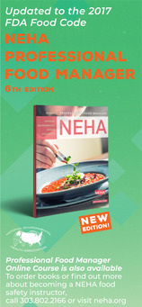 NEHA Professional Food Manager, 6th Edition