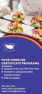 NEHA Food Handler Certificate Programs